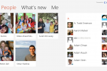 Microsoft showcases cloud-powered Windows 8 People app