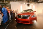 Nissan kicks off production of 2013 Altima in Mississippi