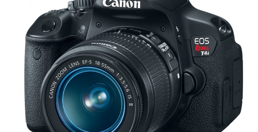 Canon EOS Rebel T4i touch DSLR official