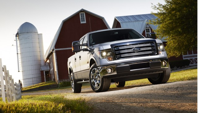 Ford unveils 2013 F-150 with MyFord Touch