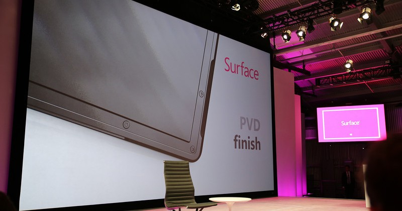 Microsoft Surface tablet details revealed