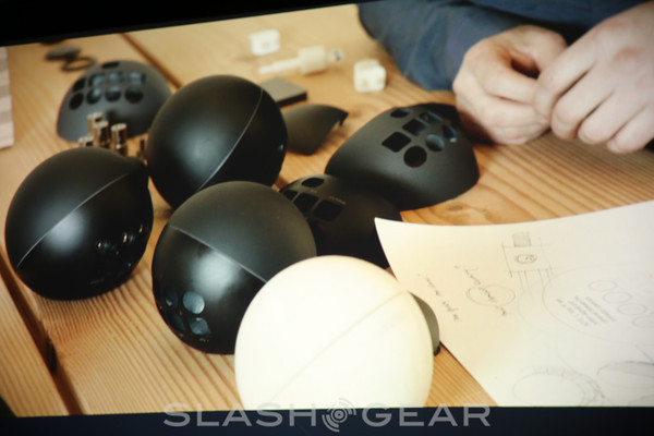 Nexus Q demonstrated with cloud music and movies