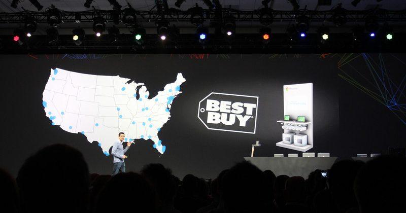 Chromebooks hit retail via Best Buy