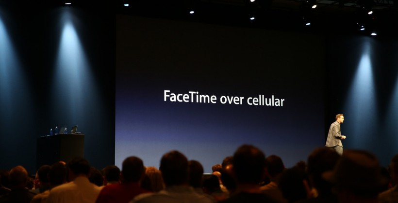 Apple: FaceTime now works over cellular in iOS 6