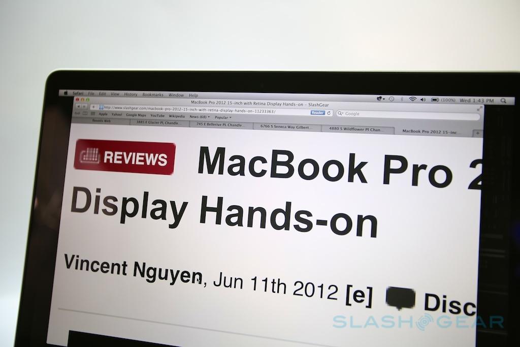 MacBook Pro with Retina Display review (mid-2012) - SlashGear