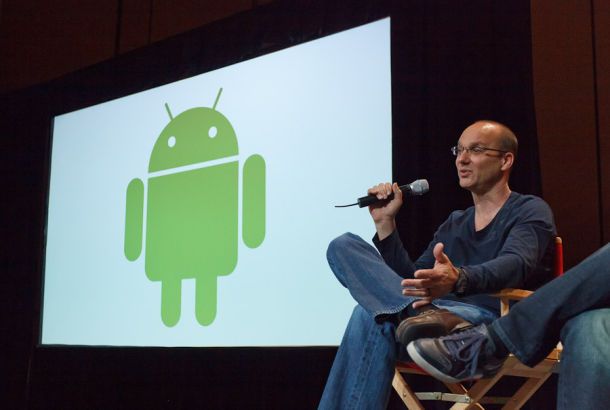 Rubin denies he's leaving Google: 900k daily Android activations