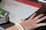 Vodafone utilizing palm vein scanner for smartphone recharging
