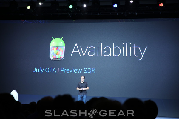 Android 4.1 Jelly Bean available in July, SDK today