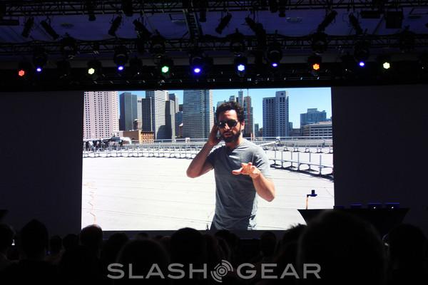 Sergey Brin talks Project Glass at IO 2012