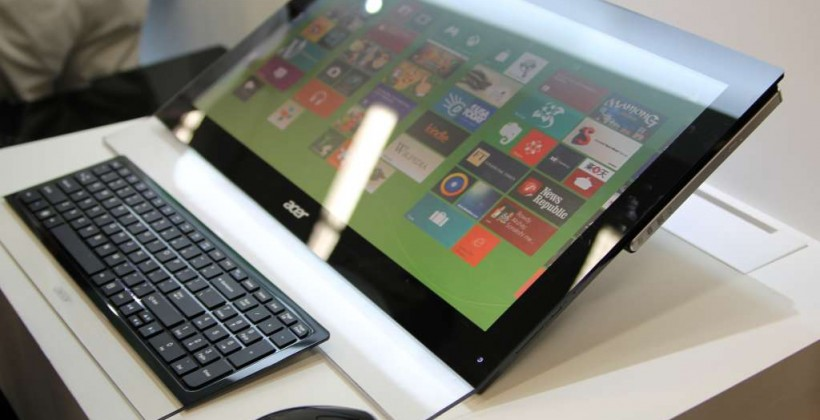 Acer Computex 2012 Windows 8 device round-up