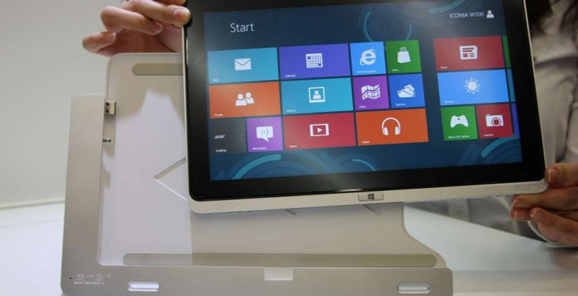 Acer Iconia W700 and W510 hands-on