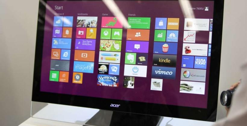 Acer Aspire 7600U and 5600U AIOs hands-on