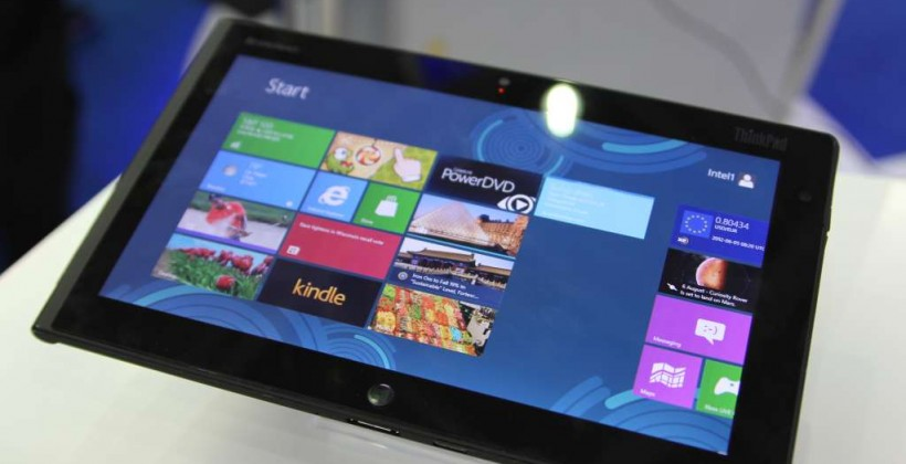 Lenovo ThinkPad Windows 8 tablet hands-on