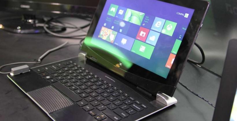 AMD Trinity Windows 8 hybrid hands-on