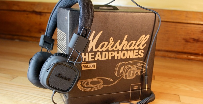 Marshall Major Pitch Black Headphones Review