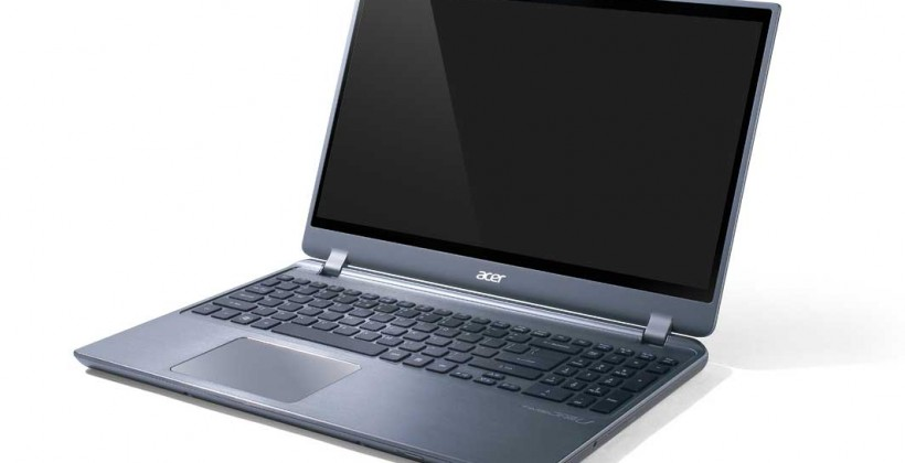 Acer Aspire Timeline Ultra M5 ultrabooks start from $679.99