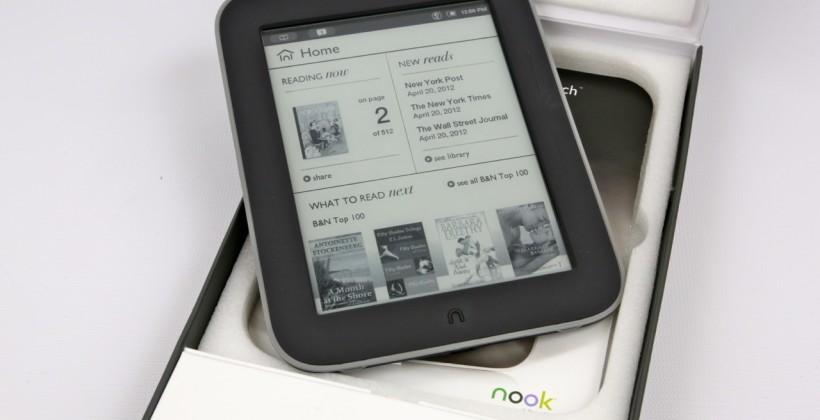 Barnes & Noble NOOK sales slump; pins hopes on GlowLight