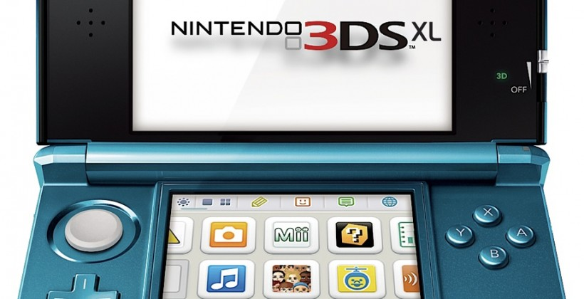 Nintendo 3DS XL with 4.3-inch 3D tipped for E3 reveal
