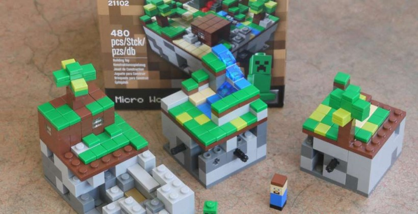 Minecraft LEGO CUUSOO set Review