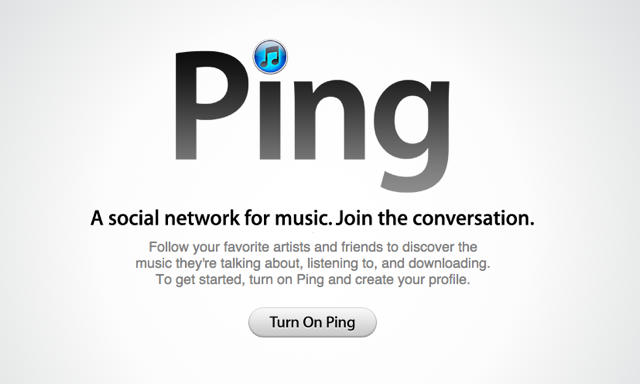 Apple to shutter Ping in next iTunes release