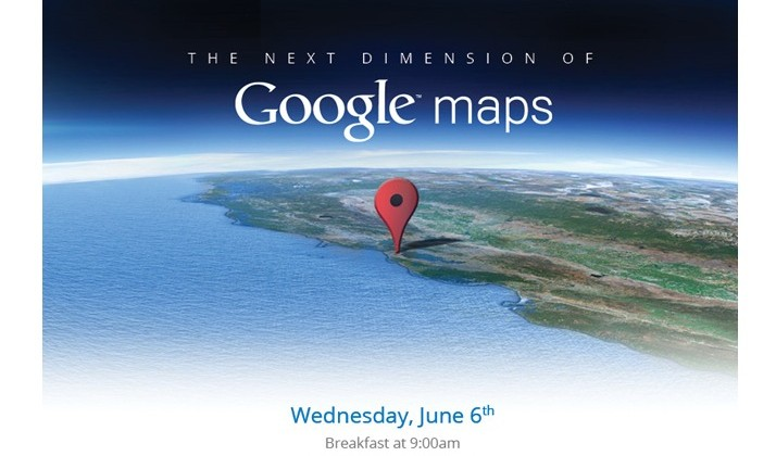 Google holding Maps event on June 6th