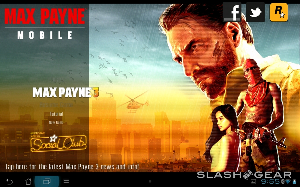 Max Payne Mobile For Android On Tegra 3 Hands On Slashgear