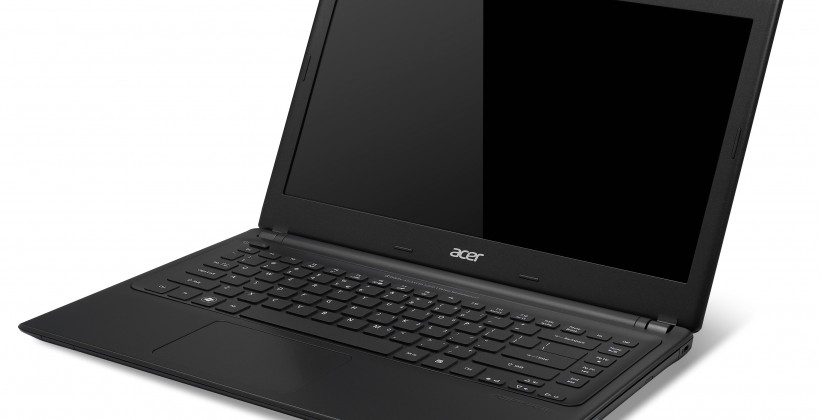 Acer Aspire V5 series features Ivy Bridge and USB 3.0