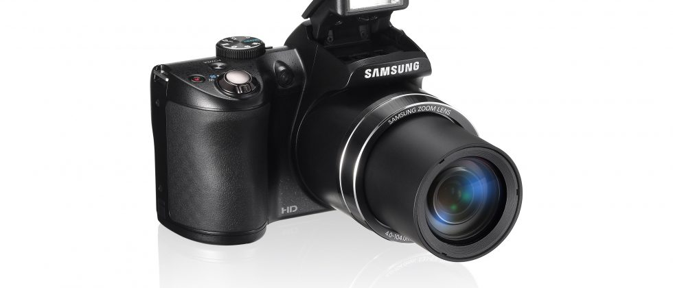 Samsung WB100 packs 16MP and 24x optical zoom