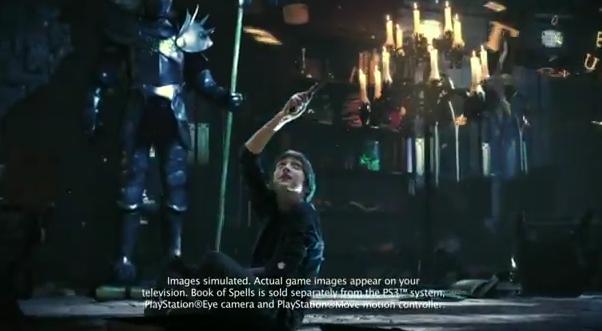 PlayStation Wonderbook brings Harry Potter to life