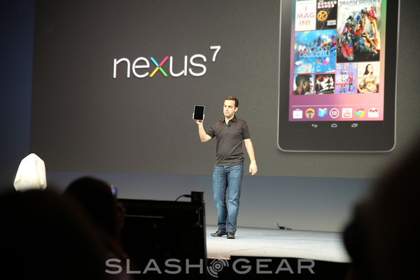Nexus 7 priced and dated