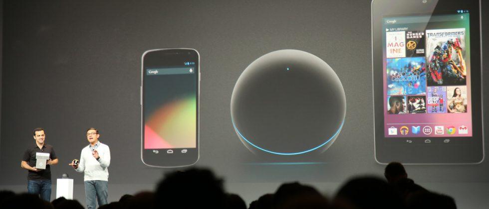 Google IO swag: Free Nexus 7, Nexus Q and Galaxy Nexus