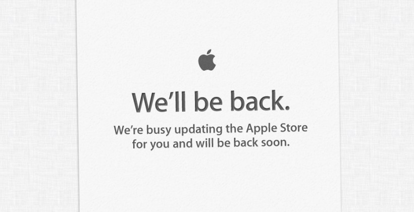 Apple Store goes down: Mac hardware incoming