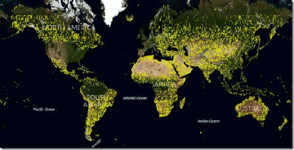 Bing Maps gets 165 TB of new imagery