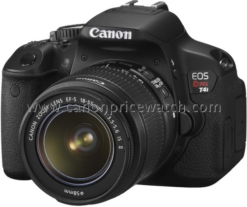 Canon EOS Rebel T4i photo and specs leak