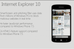 Internet Explorer 10 coming to Windows Phone 8