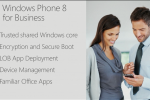 Windows Phone 8 adds business oriented features