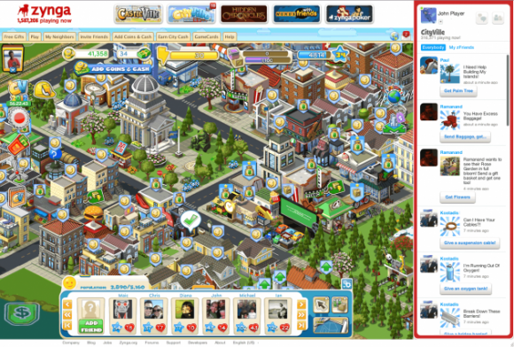 Zynga usage declines, stock drops to record low