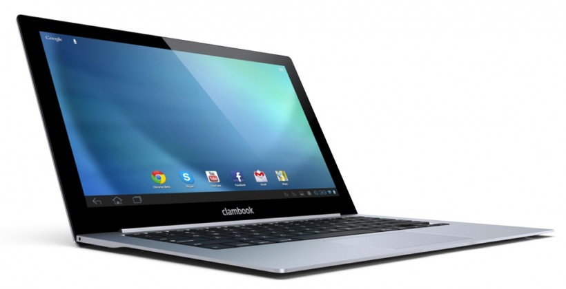 ClamBook makes an ultrabook of your iPhone or Android