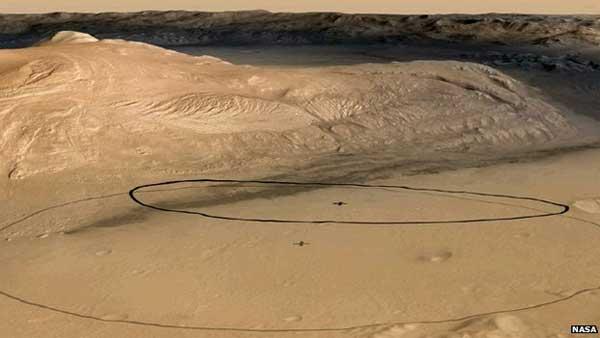 NASA aims for smaller landing zone for Curiosity rover