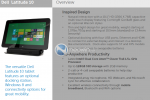 Dell Latitude 10 and Win RT slate detailed plus wireless Ultrabook dock