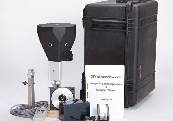 DIY Streetview camera kit lets you be Google