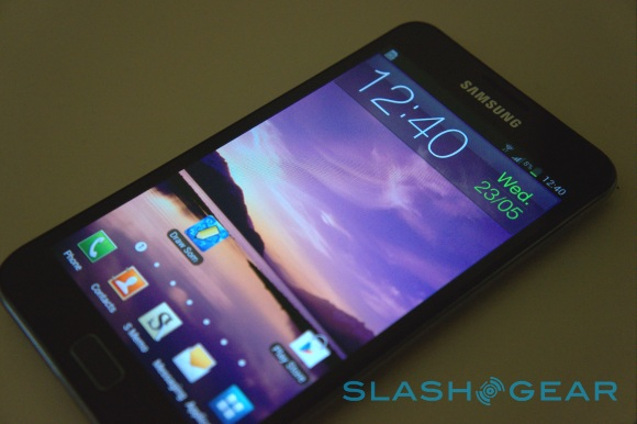 Samsung Galaxy Note II rumored for October