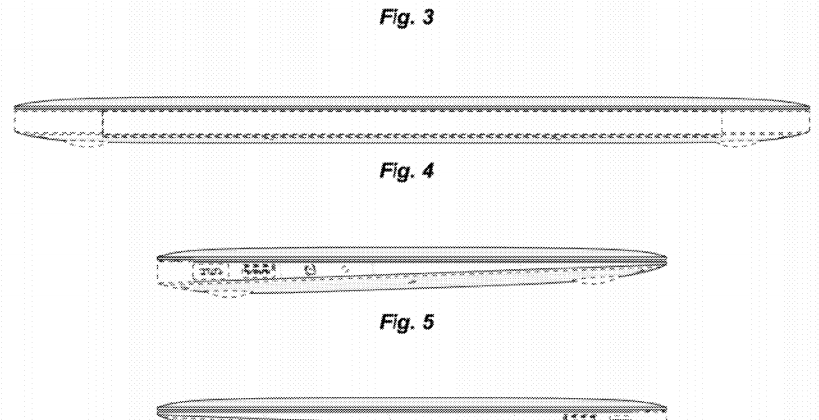 Apple patents the MacBook Air wedge shape
