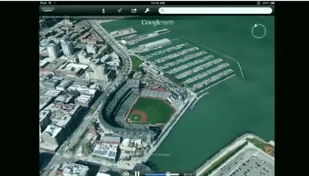Google Maps preempts Apple Maps with 3D Tour Guide