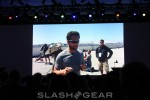Sergey Brin shows off Google Glass Sunglasses