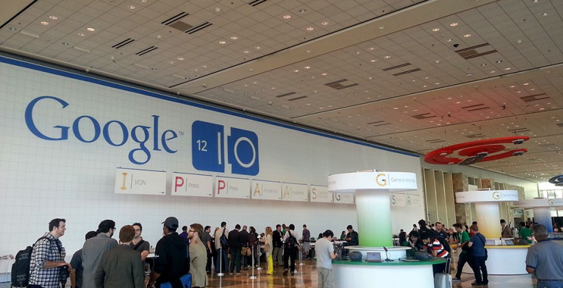 Google I/O 2012: We're here!