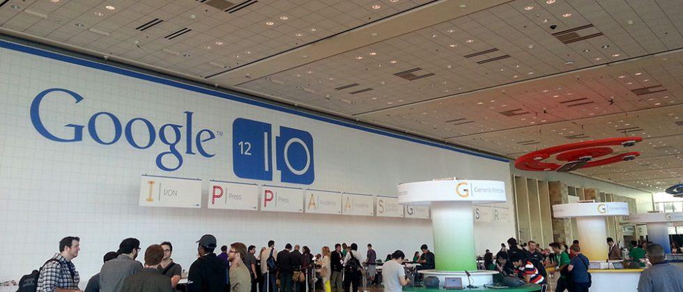 Google I/O 2012: We're here!