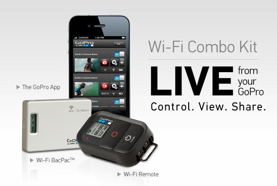 GoPro WiFi BacPac with remote available now