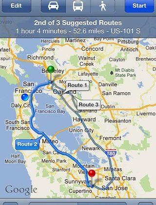 Apple Maps spurs full Google Maps app