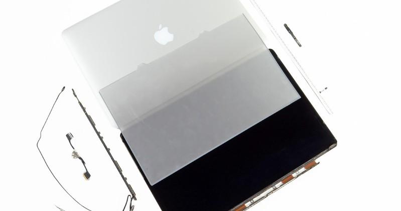 MacBook Pro Retina Display shares secrets in teardown